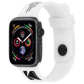 حزام ساعة Case-Mate - Kodak Apple Watch Band 42-44mm - أبيض
