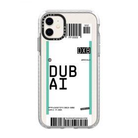 كفر iPhone 11  Casetify Dubai Pangram Collection Impact Case - شفاف