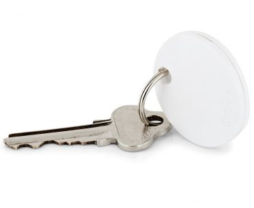 جهاز تعقب Chipolo Classic Bluetooth Item Tracker - أبيض