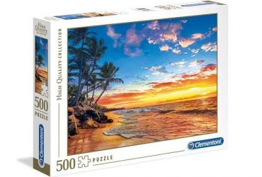 لعبة تطبيقات 500 قطعة ClEMENTONI - PARADISE BEACH