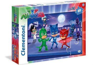 لعبة تطبيقات 60 قطعة CLEMENTONI - MAXI PUZZLE PJ MASKS
