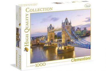 لعبة تطبيقات 1000 قطعة  CLEMENTONI - TOWER BRIDGE