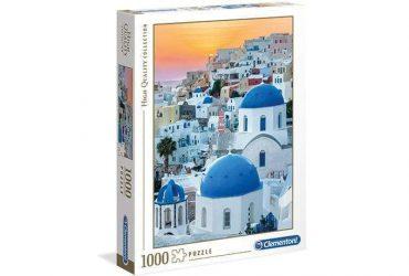 لعبة تطبيقات 1000 قطعة  CLEMENTONI - SANTORINI