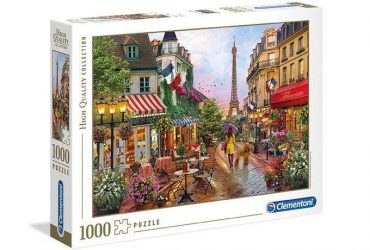 لعبة تطبيقات 1000 قطعة CLEMENTONI - FLOWERS IN PARIS