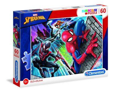 لعبة تطبيقات 60 قطعة CLEMNTONI - SPIDER-MAN