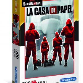 لعبة تطبيقات 500 قطعة CLEMENTONI - Netflix La Casa de Papel