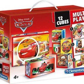 لعبة تركيب CLEMENTONI - MULTI PLAY CUBES DISNEY CARS 12PCS