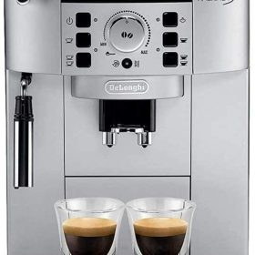 DELONGHI ECAM22.110.SB FULLY AUTOMATIC BEAN TO CUP COFFEE آلة