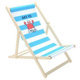 كرسي الشاطئ للأطفال Delsit - Sunbed for Children - Crab