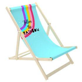 كرسي الشاطئ للأطفال Delsit - Sunbed for Children - Follow the Rainbow