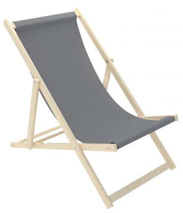 كرسي الشاطئ للأطفال Delsit - Sunbed for Children - رمادي