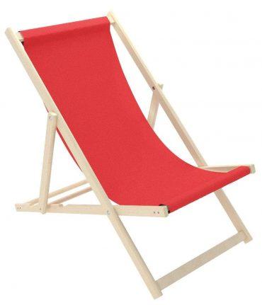 كرسي الشاطئ للأطفال Delsit - Sunbed for Children - أحمر