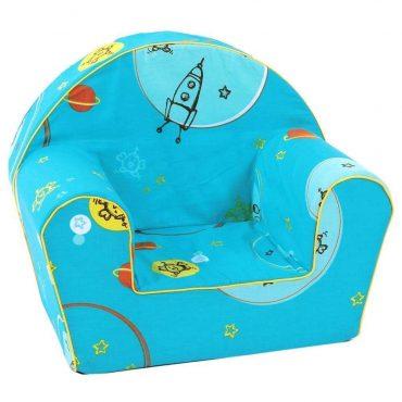 أريكة Delsit Arm Chair -  فضاء مع لون أزرق
