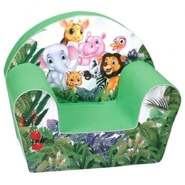 اريكة Delsit Arm Chair حيوانات الغابة - أخضر