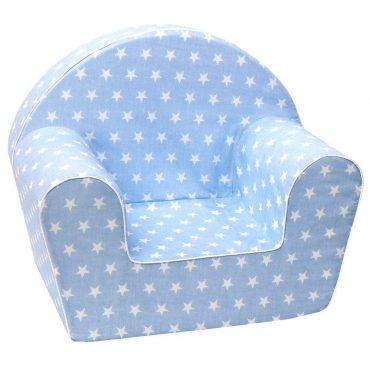 أريكة Delsit Arm Chair - أزرق مع بقع بيضاء