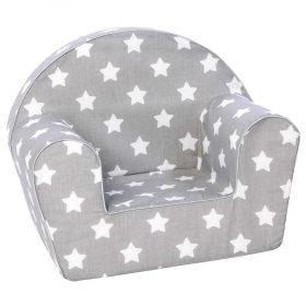 أريكة Delsit Arm Chair - رمادي مع نجوم بيضاء