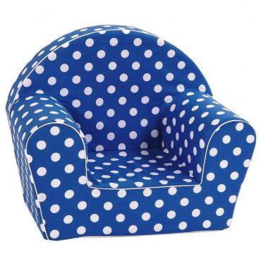 أريكة Delsit Arm Chair - كحلي مع بقع بيضاء