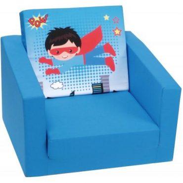 أريكة مفردة Delsit Single Sofa – البطل الخارق أزرق