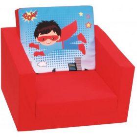 أريكة مفردة Delsit Single Sofa – البطل الخارق أحمر