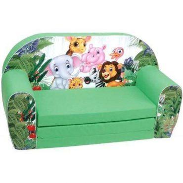 أريكة و سرير 2 في 1 Delsit Sofa Bed  - حيوانات