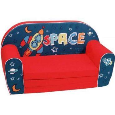 أريكة و سرير 2 في 1 Delsit Sofa Bed  - شكل الفضاء