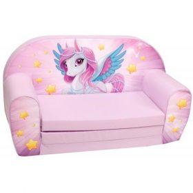أريكة و سرير 2 في 1 Delsit Sofa Bed  - لون ورود الزنبق