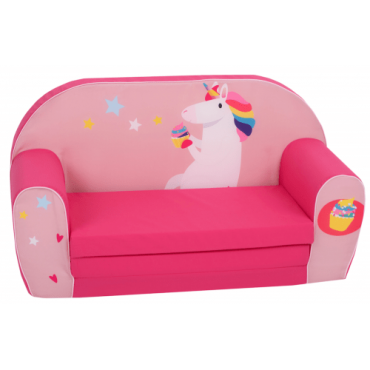 أريكة و سرير 2 في 1 Delsit Sofa Bed  - كعكة وحيد القرن