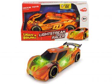لعبة سيارة سباق DICKIE - LIGHTSTREAK RACER FRICTIION 20CM
