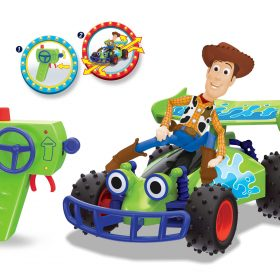 لعبة سيارة السباق DICKIE - RC TOY STORY 4 BUGGY WITH WOODY