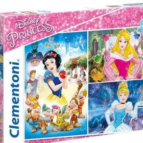 لعبة تطبيقات  48×3 قطعة CLEMENTONI - Disney Princess