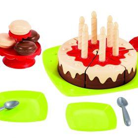 لعبة كيكة عيد ميلاد Ecoiffier Set - set birthday cake
