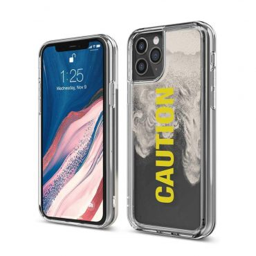 Elago Sand Case for iPhone 11 Pro Max - Caution_x000D_
