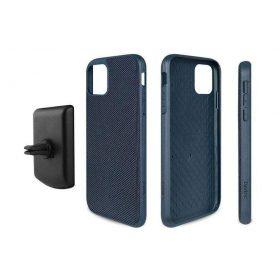 كفر موبايل EVUTEC AERGO BALLISTIC NYLON WITH AFIX IPHONE 11 Pro  - أزرق