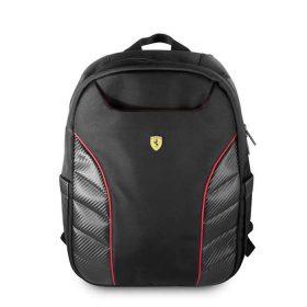 حقيبة ظهر فاخرة Scuderia مقاس 15 إنش من Ferrari - أسود