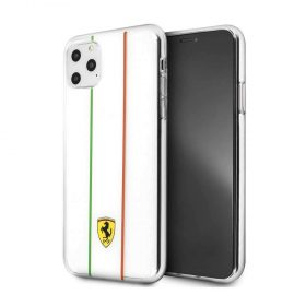كفر أصلي فاخر تصميم إيطاليا لآيفون 11 Pro من Ferrari - شفاف