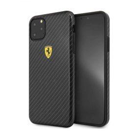 كفر قوي كربون ضد الصدمات لآيفون 11 Pro من Ferrari - أسود