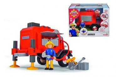 لعبة سيارة الإطفاء SIMBA - Sam Trailer incl