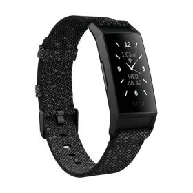 سوار اللياقة البدنية Fitbit Charge 4 Fitness Wristband with GPS ( NFC ) SE - أسود