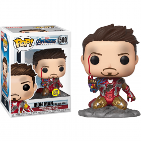 شخصية POP Marvel: Avengers Endgame - I Am Iron Man (EXC) (MT)