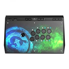 جهاز تحكم بالألعاب GameSir C2 Universal Arcade Fightstick - أسود
