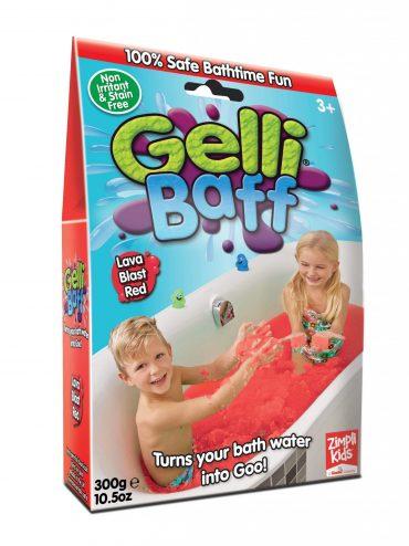 لعبة جيلي باف أحمر 300 جرام glibbi-Zimpli kids - Gelli Baff
