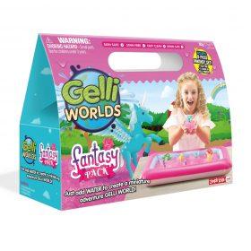 لعبة عالم الجيلي - وردي glibbi-Zimpli kids - Gelli World Fantasy Pack