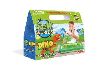 لعبة عالم الجيلي - أخضر glibbi-Zimpli kids - Gelli World Dino Pack
