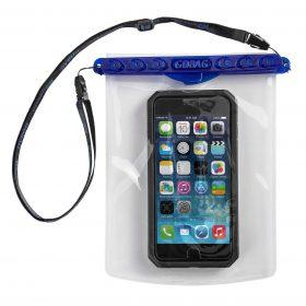كيس محكم الإغلاق للهواتف المحمولة والاكسسوارات من GOBAG - أزرق