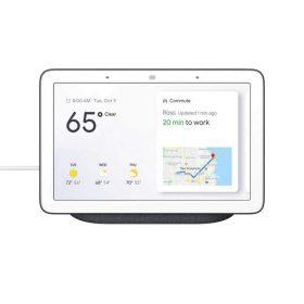 مساعد Google Home Hub - فحمي