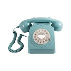 هاتف الفندق روتاري 746 باللون الأزرق من جي بي أو