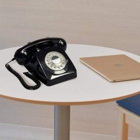 هاتف الفندق بوش 746 باللون الأسود من جي بي او