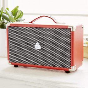 مشغل الراديو ويستوود -أحمر اللون من جي بي او