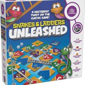 لعبة السلم والثعبان Happy Puzzle - SNAKES AND LADDERS UNLEASHED