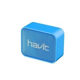 سماعة بلوتوث ميني سبيكر المحمولة من HAVIT - أزرق